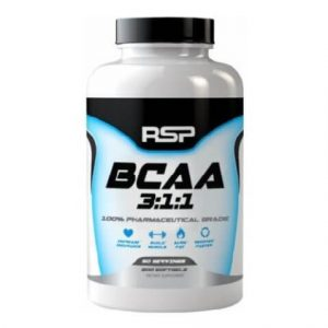 RSP Nutrition BCAA 3:1:1, 200 Capsules-0