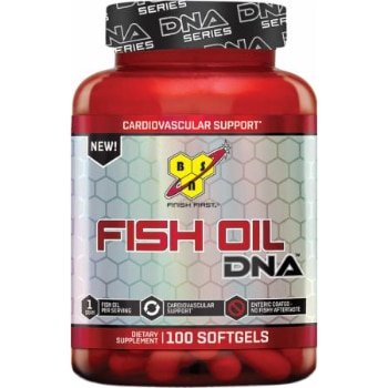 BSN Fish Oil DNA Series,100 Softgels -0