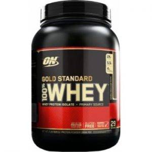 ON (Optimum Nutrition) Gold Standard 100% Whey, 2lbs. -0