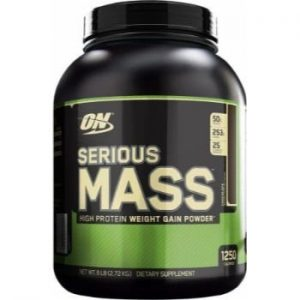 ON (Optimum Nutrition) Serious Mass, 6lbs-0