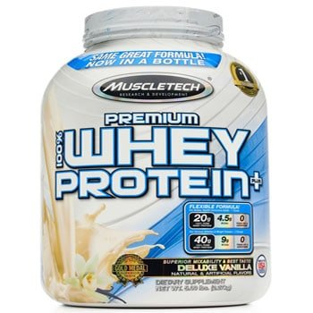 MuscleTech 100% Premium Whey Protein Plus, 5lbs-0