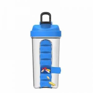 Shaker With Compartments for Tablets-0