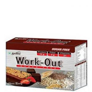 RiteBite Work-Out Sugar Free - Choco Berry (Pack of 6)-0