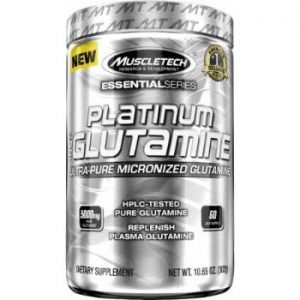 MuscleTech Glutamine, 0.67 lb Unflavoured-0