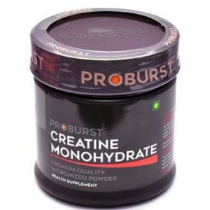 Proburst Creatine Monohydrate, Unflavoured, 60 Servings-0