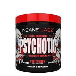 Insane Labz Psychotic Infused Preworkout 35 Servings