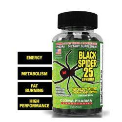 Cloma Pharma Black Spider 100 Capsules