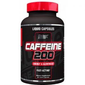 Nutrex Caffeine 200, 60 Black Capsules -0
