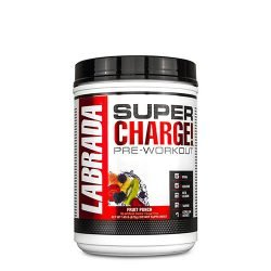 Labrada Nutrition Super Charge Pre Work out Energy Drink Mix, 675 Grams