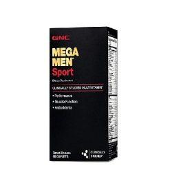 GNC Mega Men Sport 120 Tablets