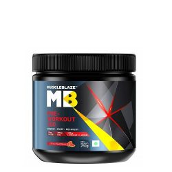 MuscleBlaze PRE Workout 250 Grams