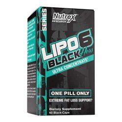 Nutrex Lipo 6 Black Hers UC