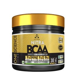 One Science Nitra BCAA 390 Grams, 30 Servings