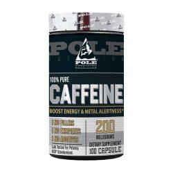 Pole Nutrition Caffeine 200mg, 100 Capsules