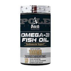 Pole Nutrition Omega-3 Fish Oil 1000mg, 120 Softgels