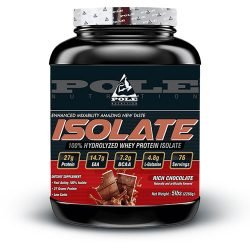 Pole Nutrition Isolate Protein, 5Lbs, 76 Servings