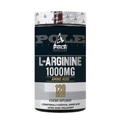 Pole Nutrition L-Arginine 1000mg, 120 Capsules