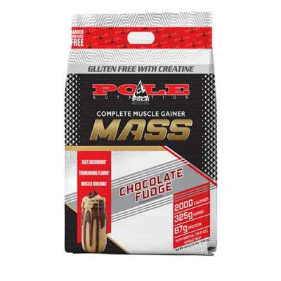 Pole Nutrition Mass, Complete Muscle Gainer, 12lbs
