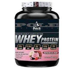 Pole Nutrition 100% Whey Protein Powder, 5Lbs