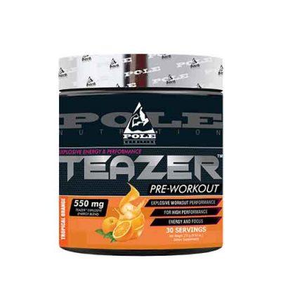 Pole Nutrition TEAZER Pre-workout, 30 Servings