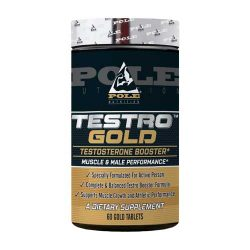 Pole Nutrition Testro Gold, 60 Gold Tablets