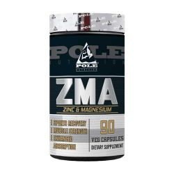 Pole Nutrition ZMA, 90 Veg Capsules