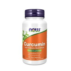 Now Curcumin 60 Veg Capsules