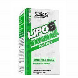 Nutrex Research Lipo 6 Natural 60 Veg Capsules