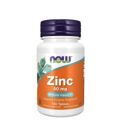 Now Zinc 50 mg 100 Tablets